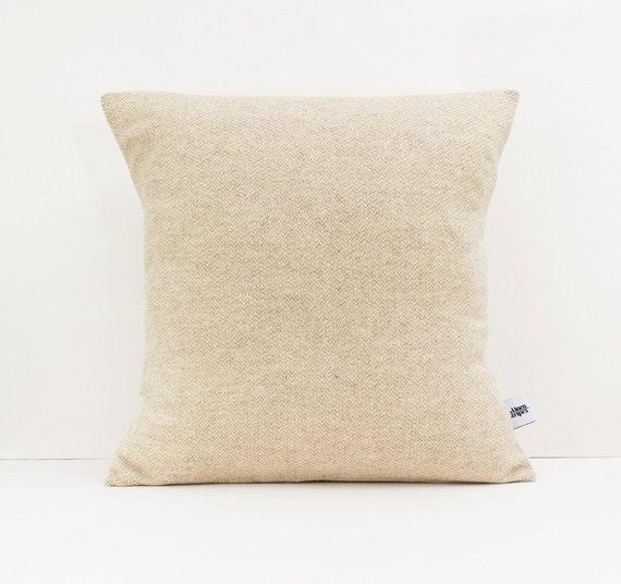 Decorative Pillow Texture : Textured cushion Herringbone pillow Decorative pillows for