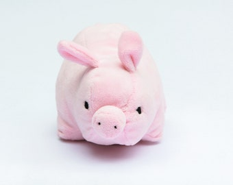 Piggy Plush, Pig Stuffed Animal, Stuffed Pig, Big Pig