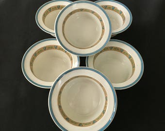 Wm Guerin & Co Antique Limoges Ramekins Set of Six