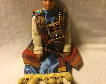 Joseph Coat Of Many Colors Bible Story Doll