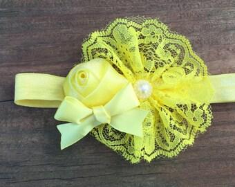 Lemon Drop Girls Headband