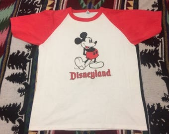 Vintage 90's Disneyland Mickey Mouse T-shirt Size XL