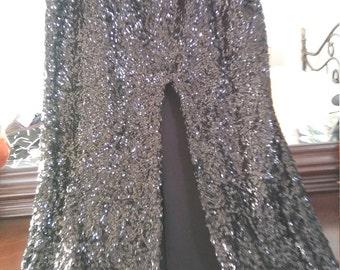 STUNNING Vintage Sequin Skirt