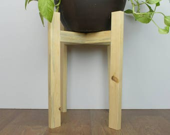 Modern Planter - Modern Plant Stand - Plant Stand - Plant Stand Wood - Plant Stands Indoor - Minimalist Planter - Wood Decor - Plant Table