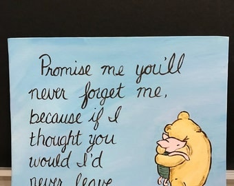 Classic Winnie The Pooh Valentineu0027s Day Motheru0027s Day New Mom To Be Love Saying  Goodbye Moving