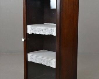 Edwardian Mahogany Glazed Cabinet