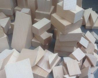 Wooden Blocks Hardwood