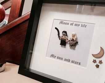 Game of Thrones Gift - Custom Brick Frame