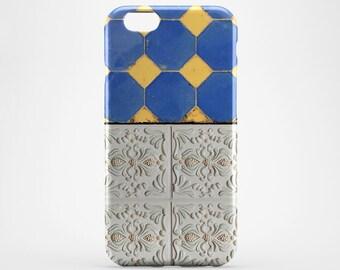 Morocco iPhone Case Blue Ceramic iPhone 7 Case Marble iPhone 6 Plus Case Tile iPhone SE Case iPhone 7 Plus Morocco iPhone 5 Case Xperia Z3