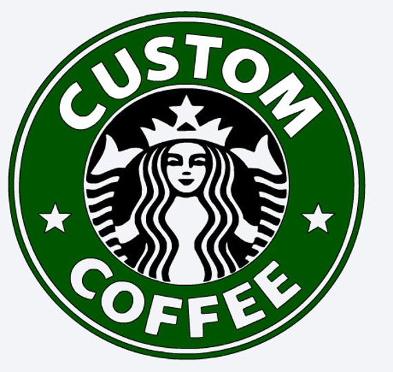 Zany image pertaining to printable starbucks logo