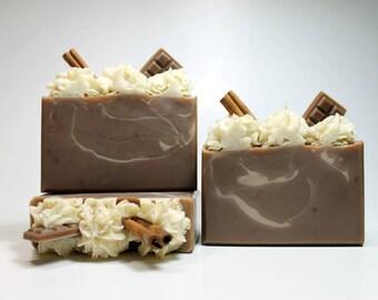 Coffee Mocha Soap, Cold Process Soap, Coffee Soap, Handmade Soap Bar, Mocha Soap, Coffee Body Soap Bar, Scented Soap, Natural Soap