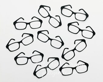 Eyeglasses Die Cuts, Eyeglasses Confetti, Eye Glasses Die Cuts, Eye Glasses Confetti, 25 Ct.