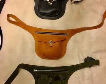 iOO Fanny Pack leather