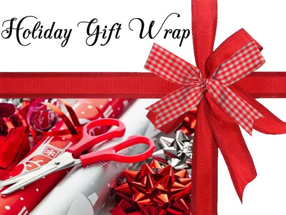 Gift Wrap Add on - Gift Wrapping Add on - Gift Wrap Option