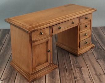 Miniature Wooden Desk