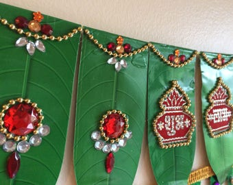 Shubh Laabh Thoran/ Wall Hanging decor - Single Piece