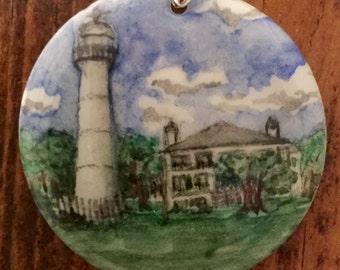 Biloxi Lighthouse necklace