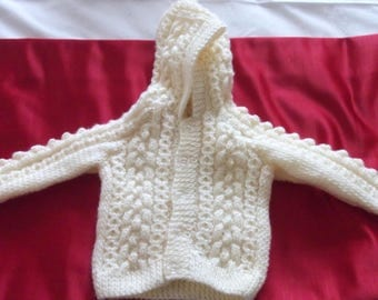 Hand knitted baby/cardigains jumpers