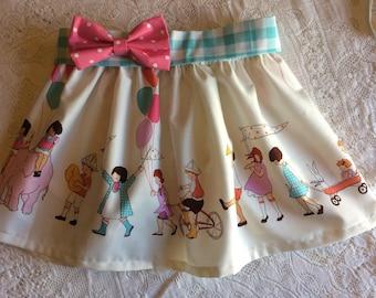Baby Toddler Girl Parade Birthday Balloon Elastic Waist Skirt