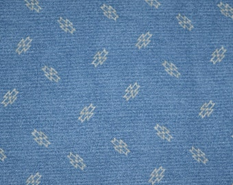 Country Blue Fabric, Blue Fabric, Quilting Fabric, Fabric, Quilts, Blue Cotton Fabric, Fat Quarter, Fabric by the Yard