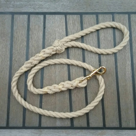 Rope dog lead large dog leash nautical ideal for the for Large nautical rope