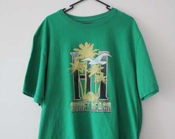 XXL Sunset Beach tee