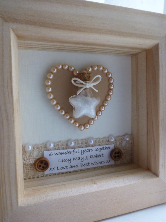 Traditional Wedding Gift For 6th Anniversary : gift, 6th wedding anniversary present, sugar anniversary gift, 6th ...