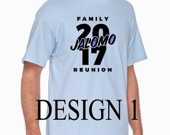 Jalomo Family Reunion 2017 Shirts