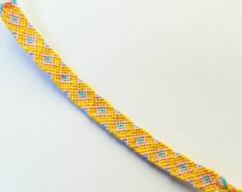 Diamond Patterned Friendship Bracelet