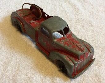 Vintage Hubley Kiddie Toy #474 Tow Truck