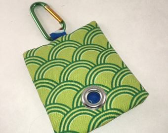 Funky Green Waste Bag Holder!