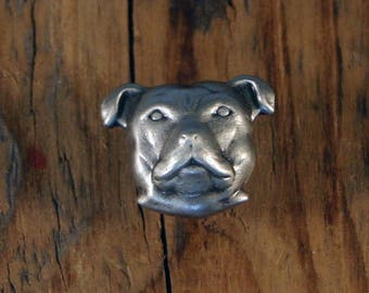Dog Face Pin