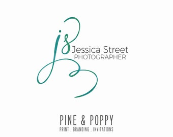 Premade Logo Design - Photography Initial Logo - Small Business - Boutique Logo