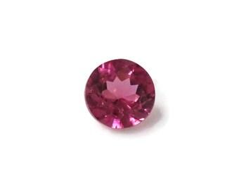 5mm Round Pink Spinel