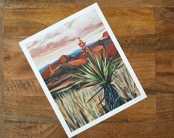 Yucca Print | Big Bend Series