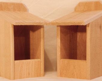 2 Cedar Nesting Boxes