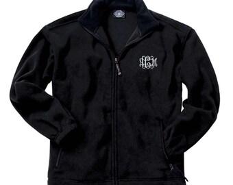 Youth Monogram Jacket.   Youth Voyager Fleece Jacket CR  8502