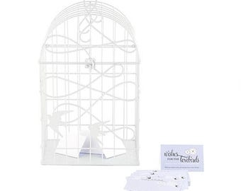 Doves Birdcage Wedding Card Holder Reception Ideas