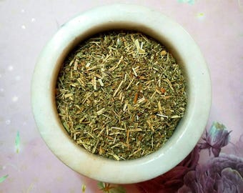Agrimony Herb - Agrimonia eupatoria - Protection, Hex-Breaker - Magickal Herb - Incense Supplies - Alter Herb -DIY Incense