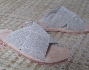 Hemp CrossOver Sandal
