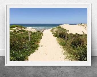 Cronulla, DIGITAL Download, Beach Landscape, Photography, Nautical, Sydney Beach, Fine Art, Coastal