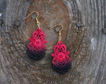 Lace Earrings - Lightweight