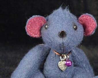 Artist Teddy Bear | Rhino | OOAK | Rhea