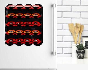 Lavazza Espresso Coffee Pod Holder, Magnetic Kitchen Coffee Organizer, Home Gift Design Kitchen Accessory, Wall Mount Storage Decor Gift