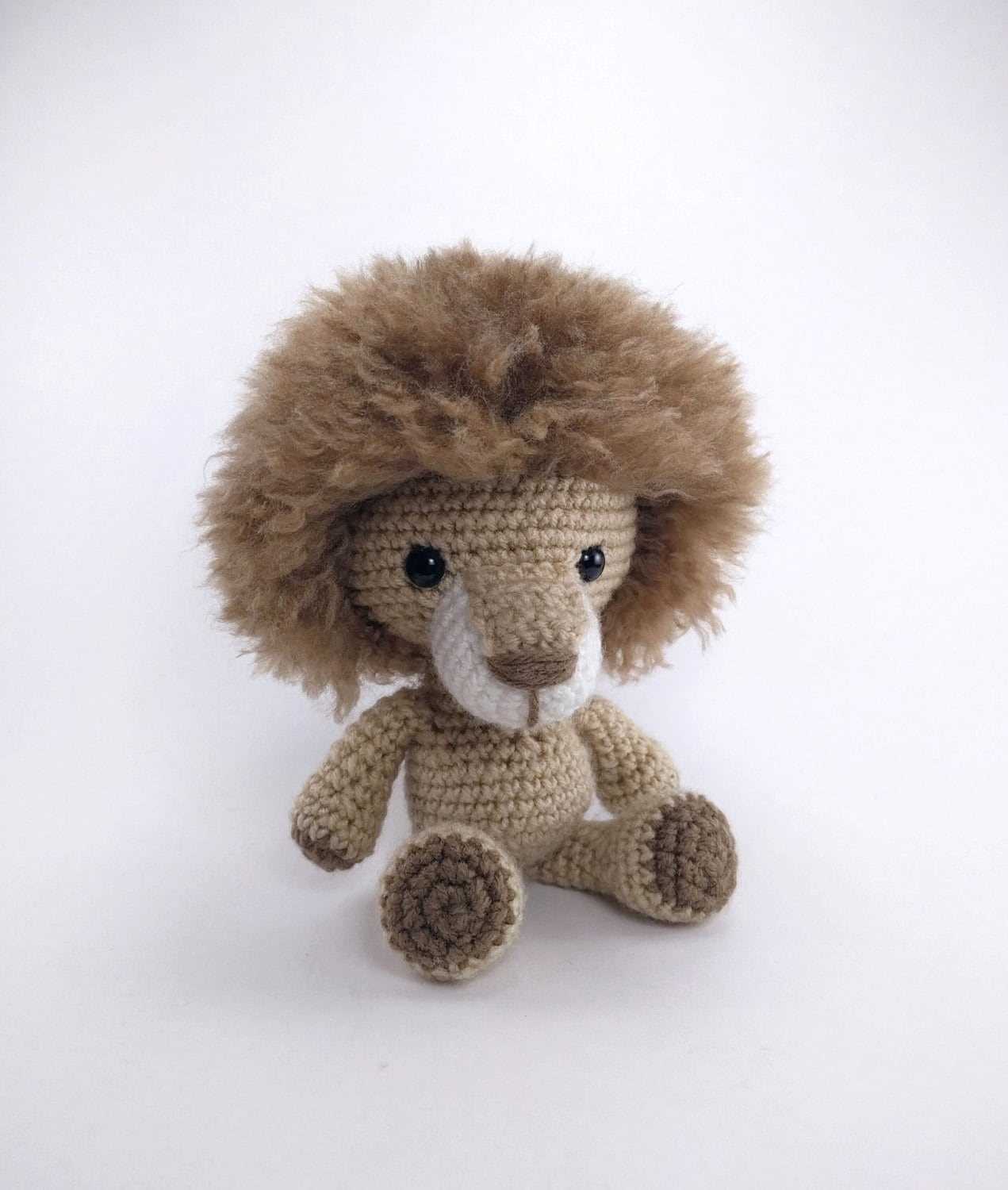 PATTERN: Crochet lion pattern amigurumi lion pattern