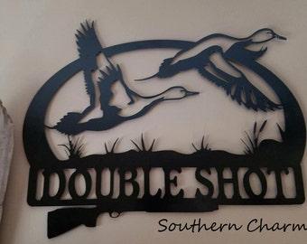 Double Shot Duck Wall or Door Hanger
