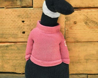 Canadian Goose Sock Animal