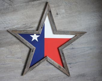 Texas Lone Star Wall Art
