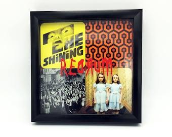 The Shining Pop Art, Shining Art, The Shining Shadow Box Picture, The Shining, Grady Twins, Jack Torrance, Horror Pop Art, Horror Picture