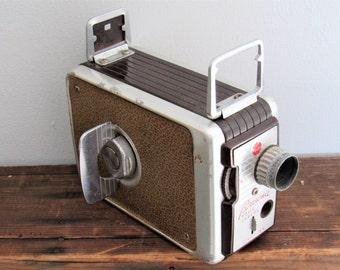 Vintage Kodak Brownie Movie Camera 8 mm.